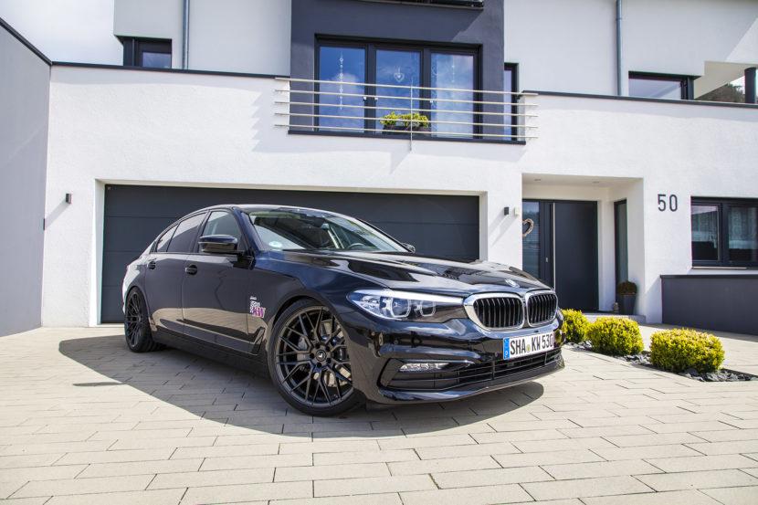 KW V3 BMW 5er G30 Standaufname 01 830x553