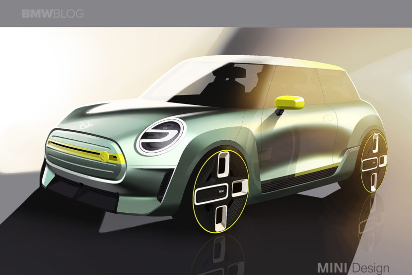 MINI Electric Concept sketches 01 830x553