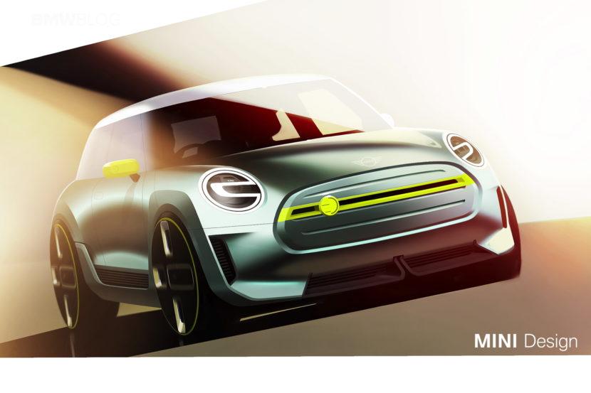 MINI Electric Concept sketches 03 830x553