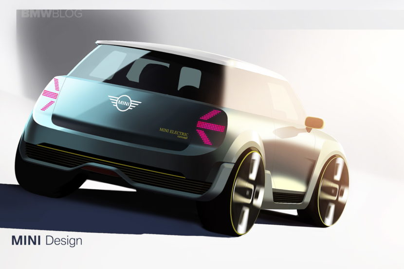 MINI Electric Concept sketches 04 830x553