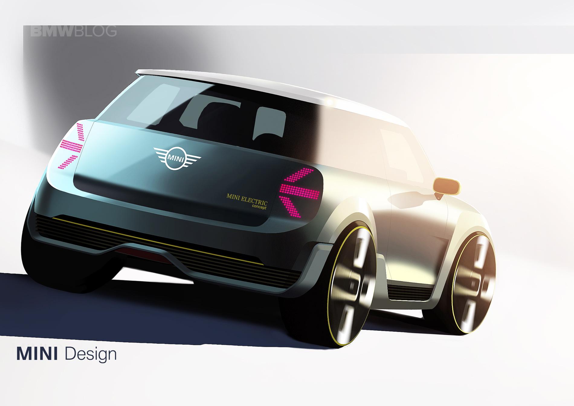 MINI Electric Concept sketches 04