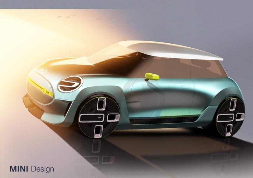 MINI Electric Concept sketches 05 830x587