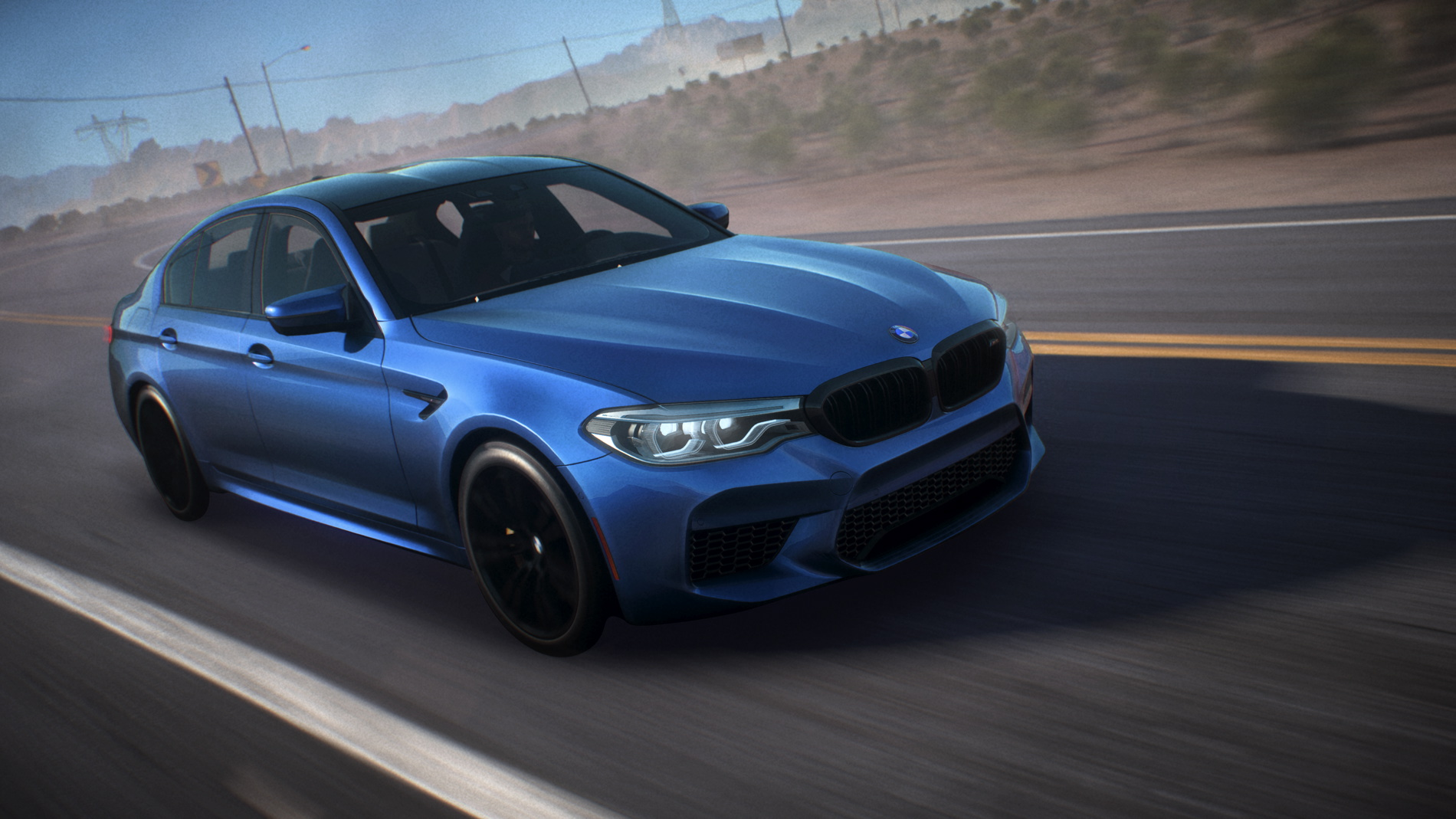 The All New Bmw M5 In Need For Speed Payback