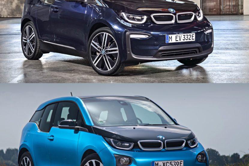 Photo Comparison 2018 BMW I3 LCI Vs