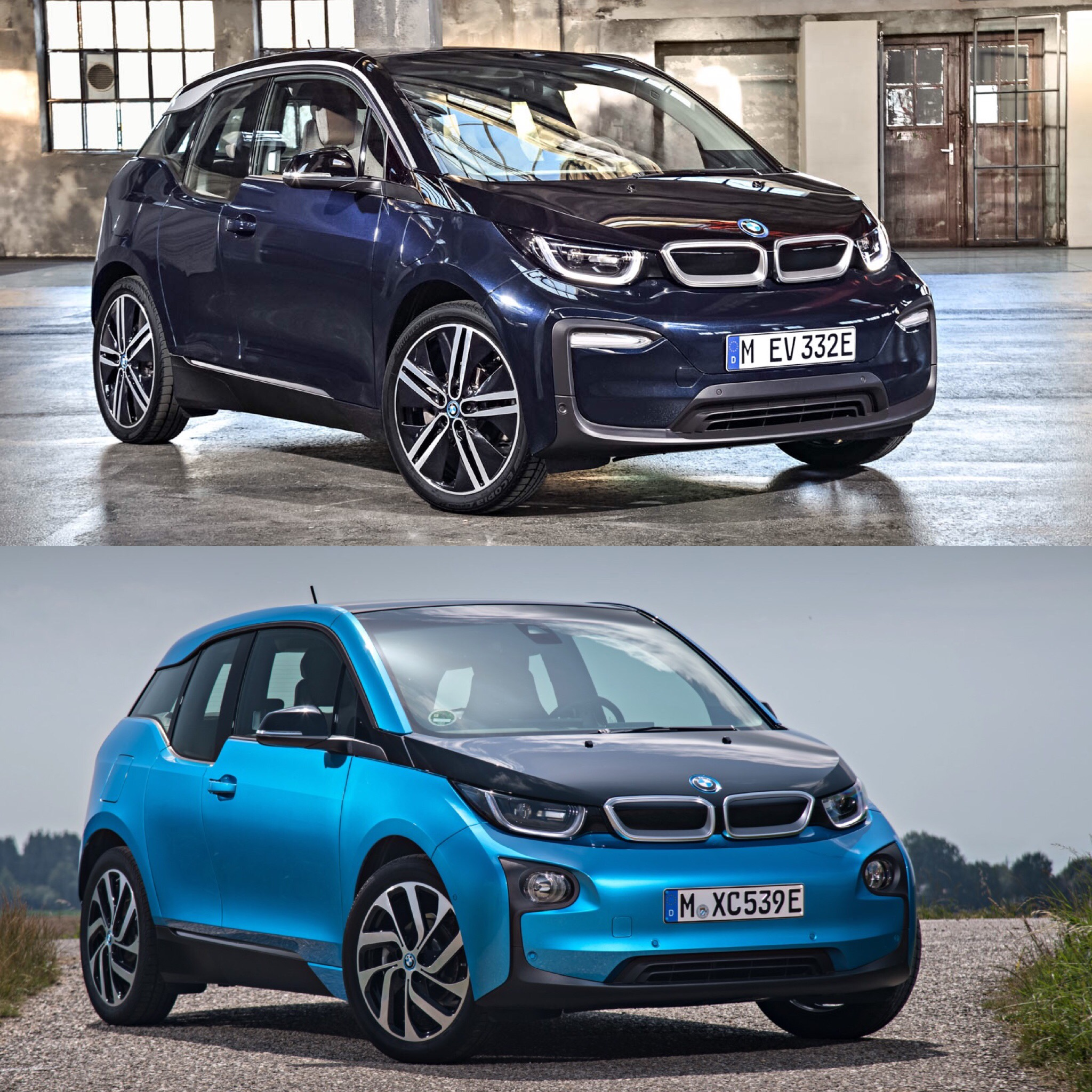 Photo Comparison 2018 Bmw I3 Lci Vs 2018 Bmw I3