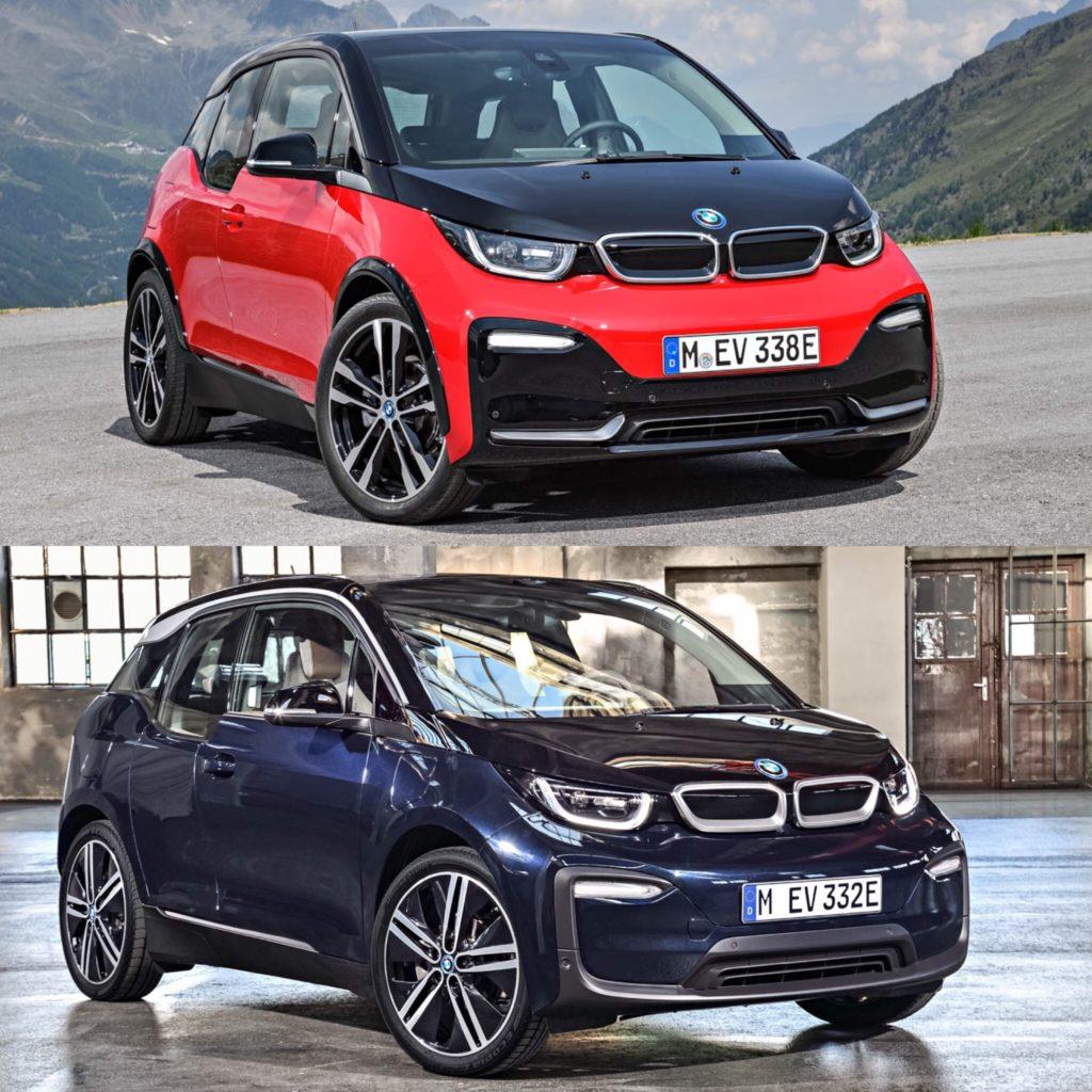 Bmw I3: Photo Comparison: BMW I3 Vs BMW I3S