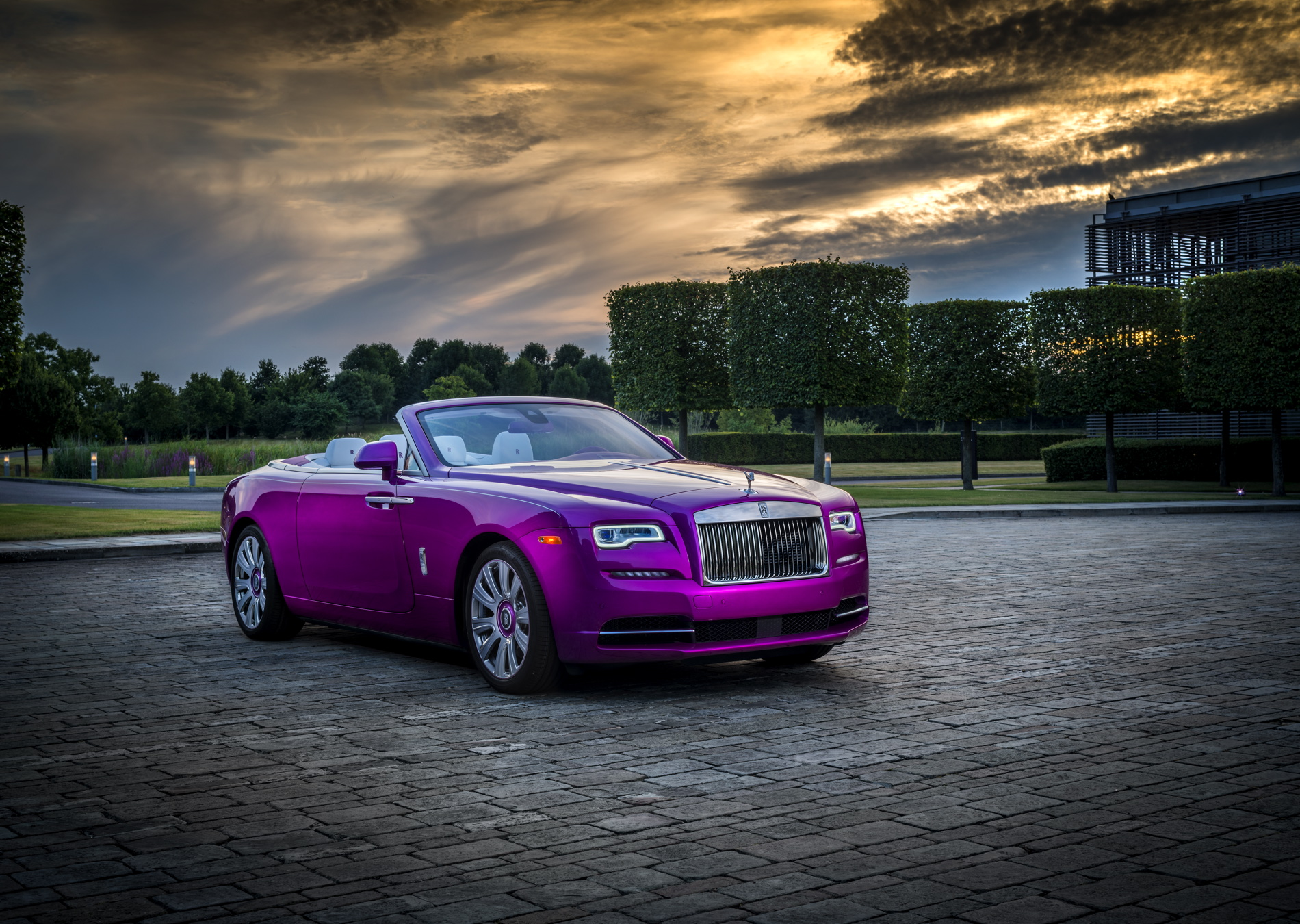 Rolls Royce Dawn In Fuxia Quot Unveiled At Pebble Beach