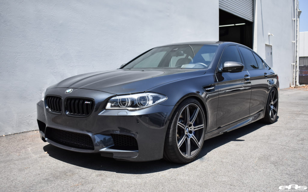 Singapore Gray Bmw M5 Gets An Eisenmann Exhaust System Installed
