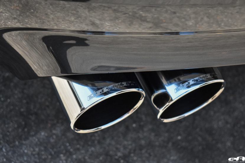 Singapore Gray BMW M5 Gets An Eisenmann Exhaust System Installed 11 830x553