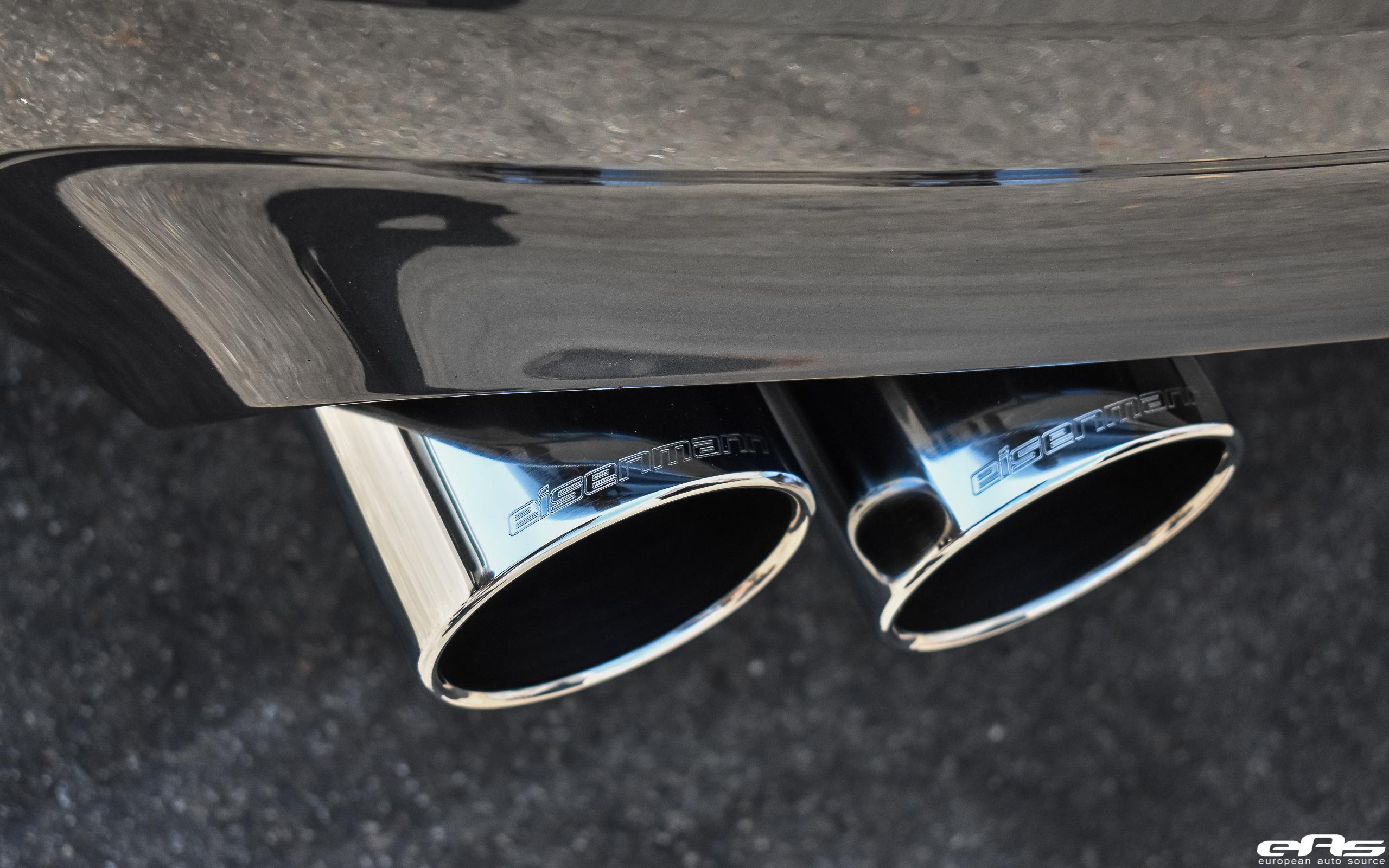 Singapore Gray BMW M5 Gets An Eisenmann Exhaust System Installed 11