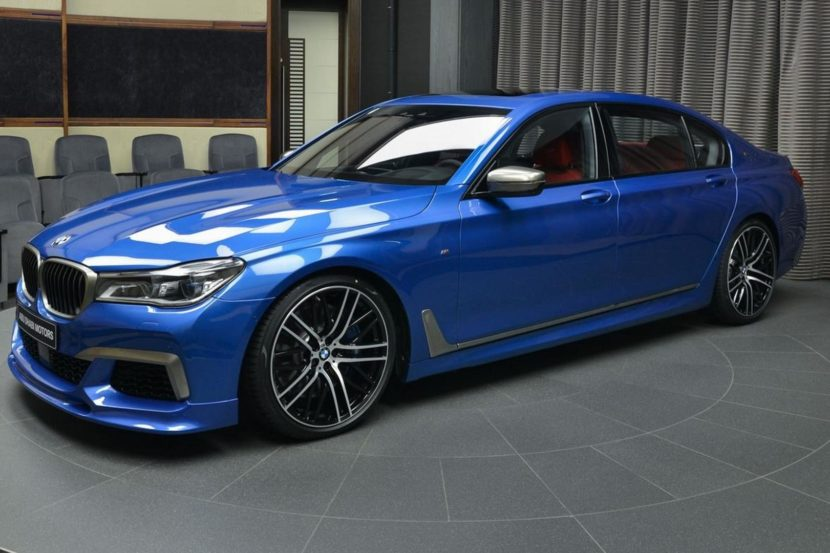 bmw m760li xdrive estoril blue 2 830x553