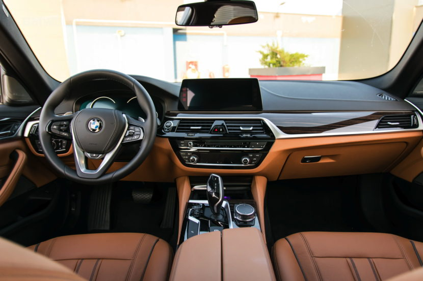 2017 BMW 520d Sedan test drive 19 830x553
