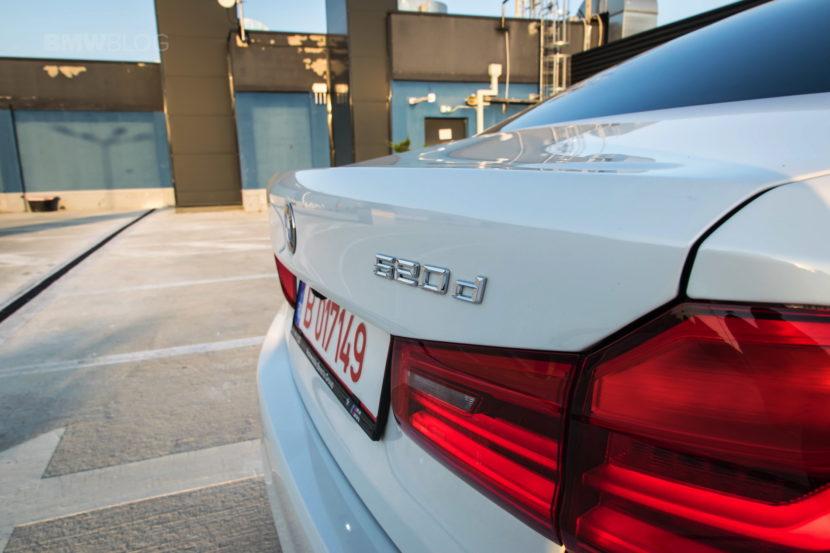 2017 BMW 520d Sedan test drive 31 830x553