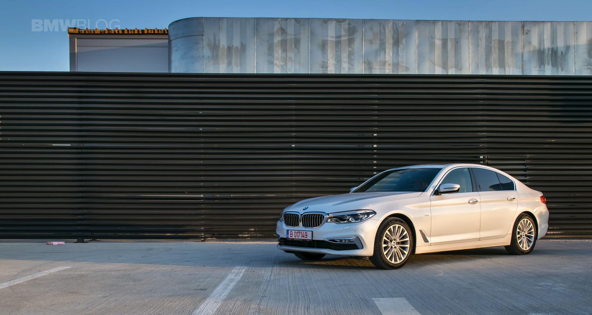 2017 BMW 520d Sedan test drive 32
