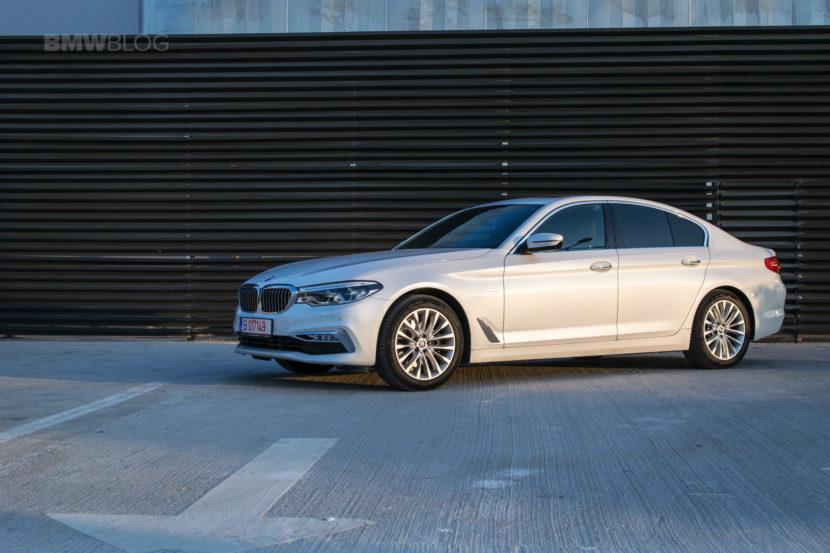 2017 BMW 520d Sedan test drive 34 830x553
