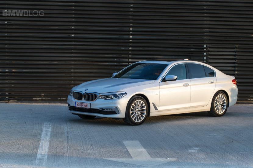 2017 BMW 520d Sedan test drive 35 830x553