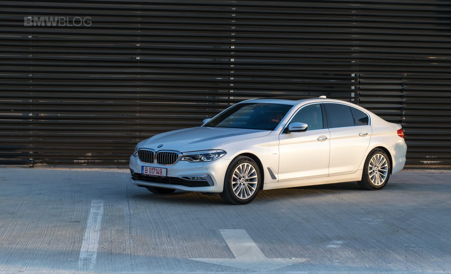 2017 BMW 520d Sedan test drive 35