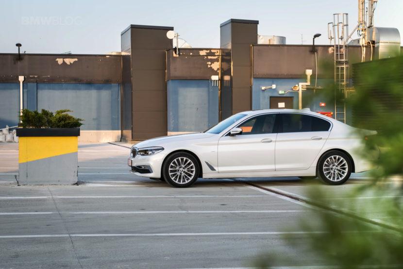 2017 BMW 520d Sedan test drive 41 830x553