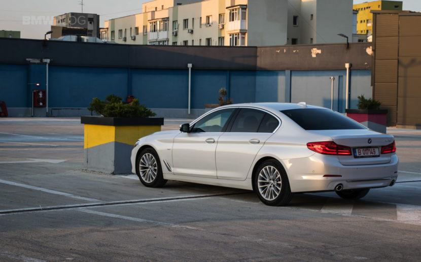 2017 BMW 520d Sedan test drive 42 830x516
