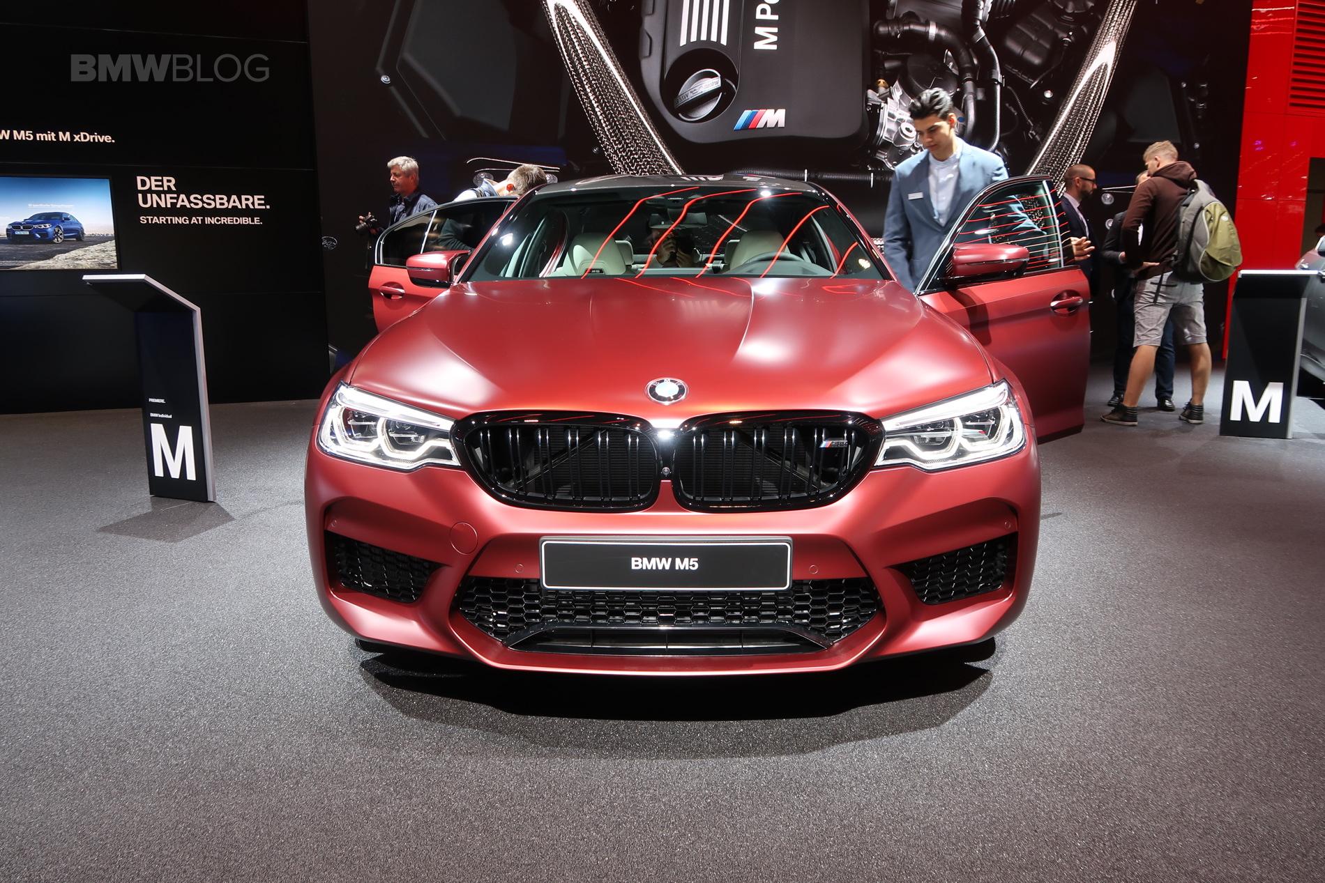 2017 Frankfurt Auto Show Bmw M5 First Edition Frozen