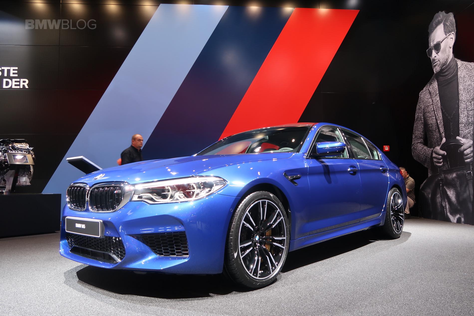 2018 BMW M5 Frankfurt 02