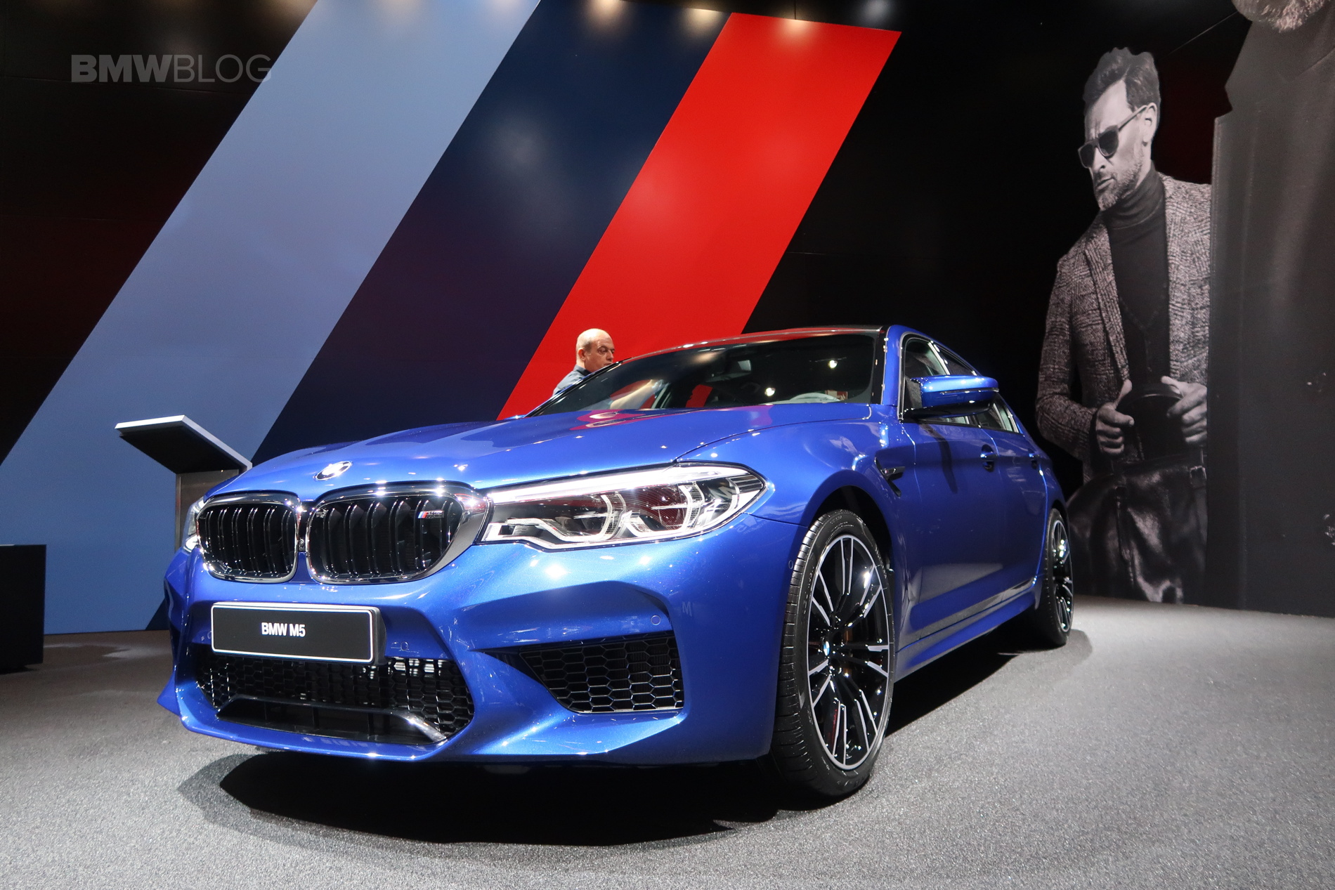 2017 Frankfurt Auto Show The New F90 Bmw M5 In Marina Bay Blue