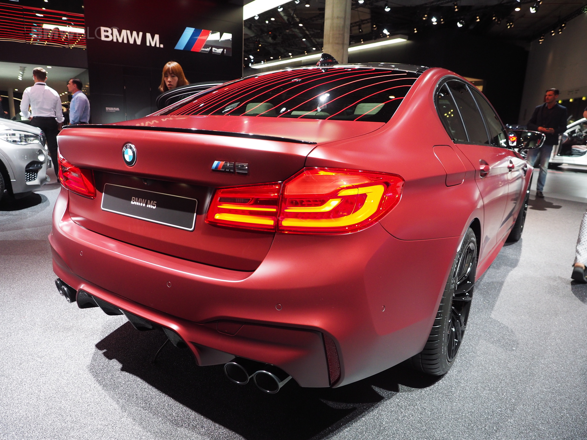 2017 Frankfurt Auto Show Bmw M5 First Edition Frozen