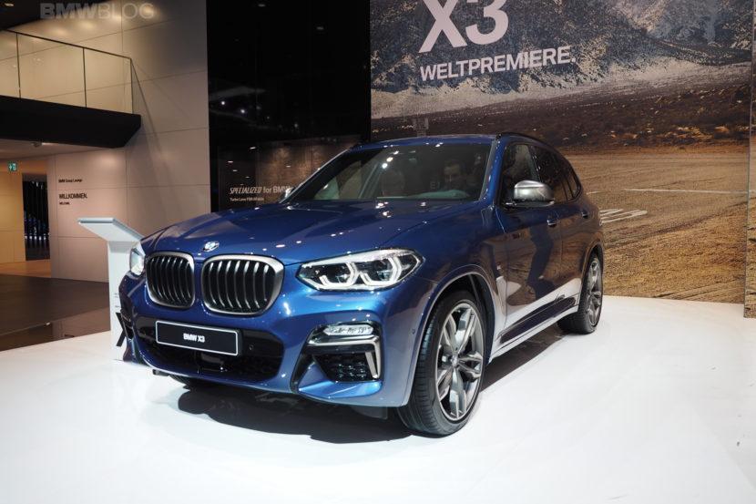 2018 BMW X3 Frankfurt 04 830x553