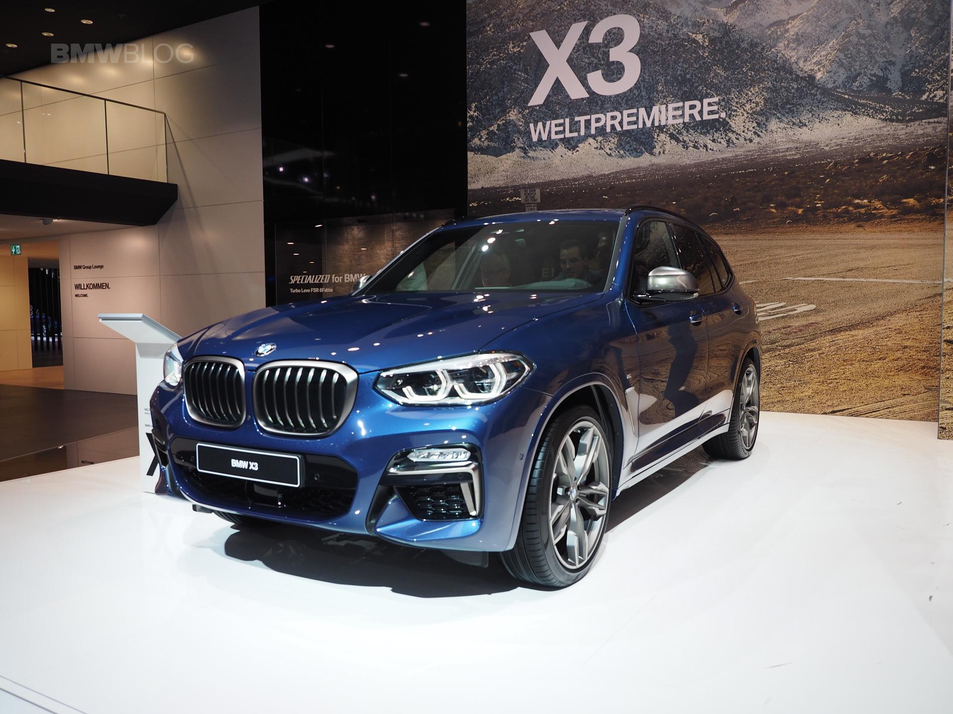 2018 BMW X3 Frankfurt 04
