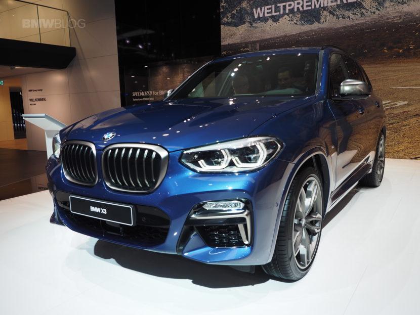 2018 BMW X3 Frankfurt 05 830x623