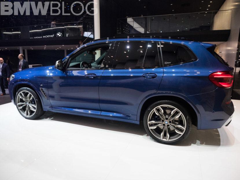 2018 BMW X3 Frankfurt Auto Show 3 830x623