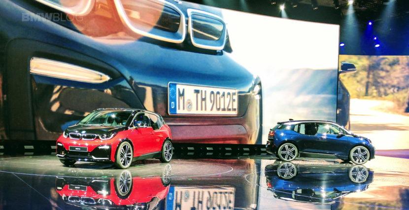 2018 BMW i3s frankfurt auto show 03 830x426