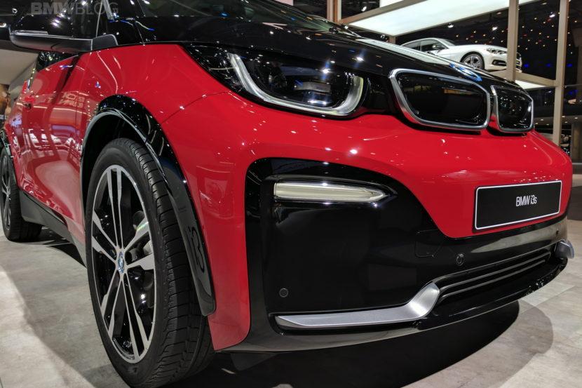 2018 BMW i3s frankfurt auto show 14 830x553