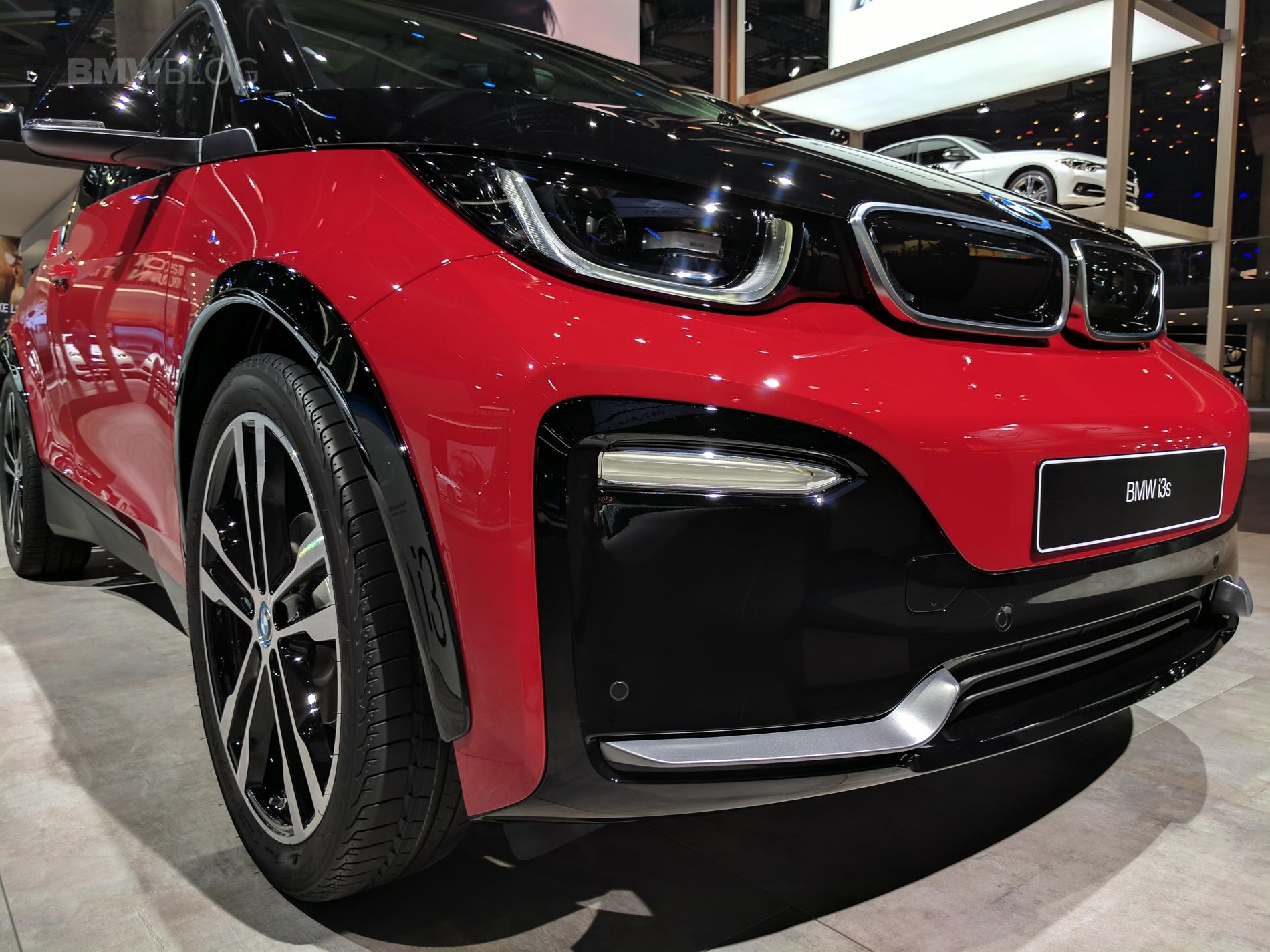 2018 BMW i3s frankfurt auto show 14