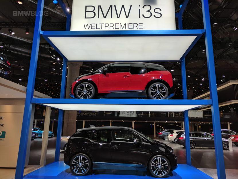 2018 BMW i3s frankfurt auto show 18 830x623