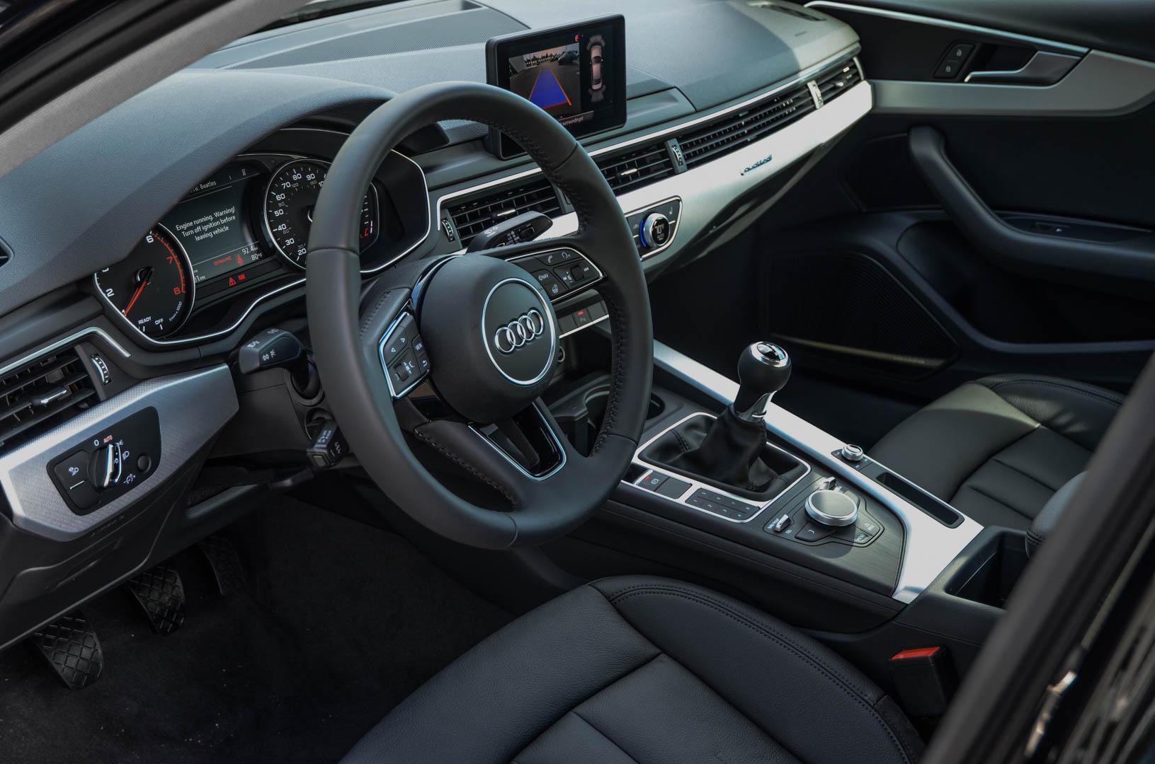 2017 audi a4 manual transmission release date