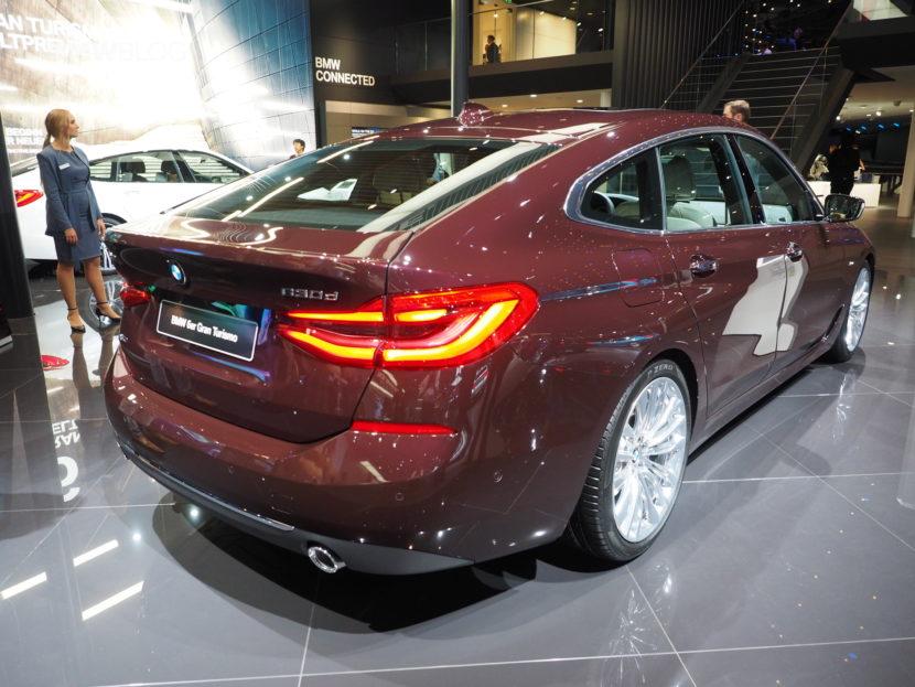 BMW 6 Series Gran Turismo Frankfurt 03 830x623