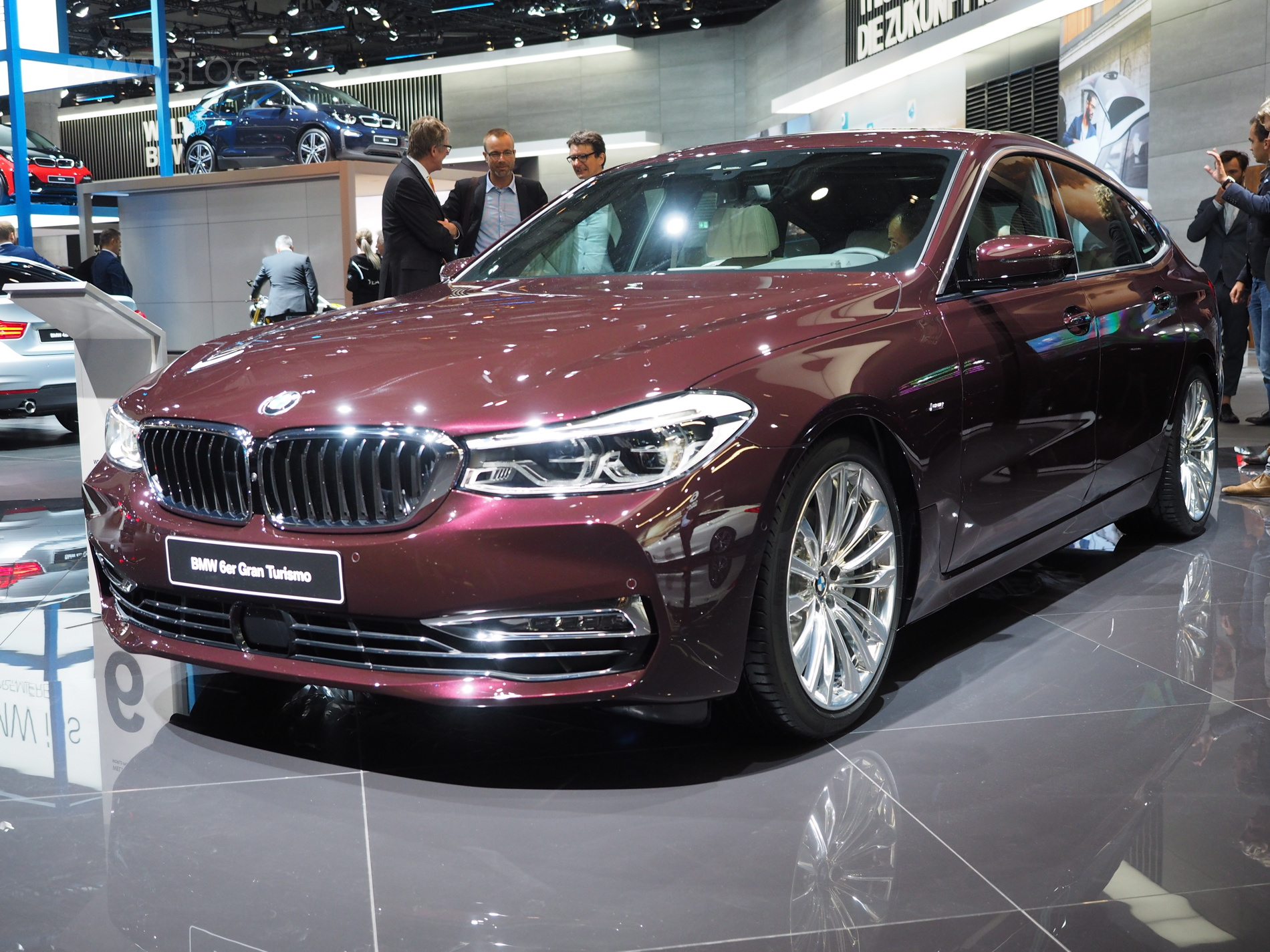 2017 Frankfurt Auto Show Bmw Introduces The 6 Series Gran