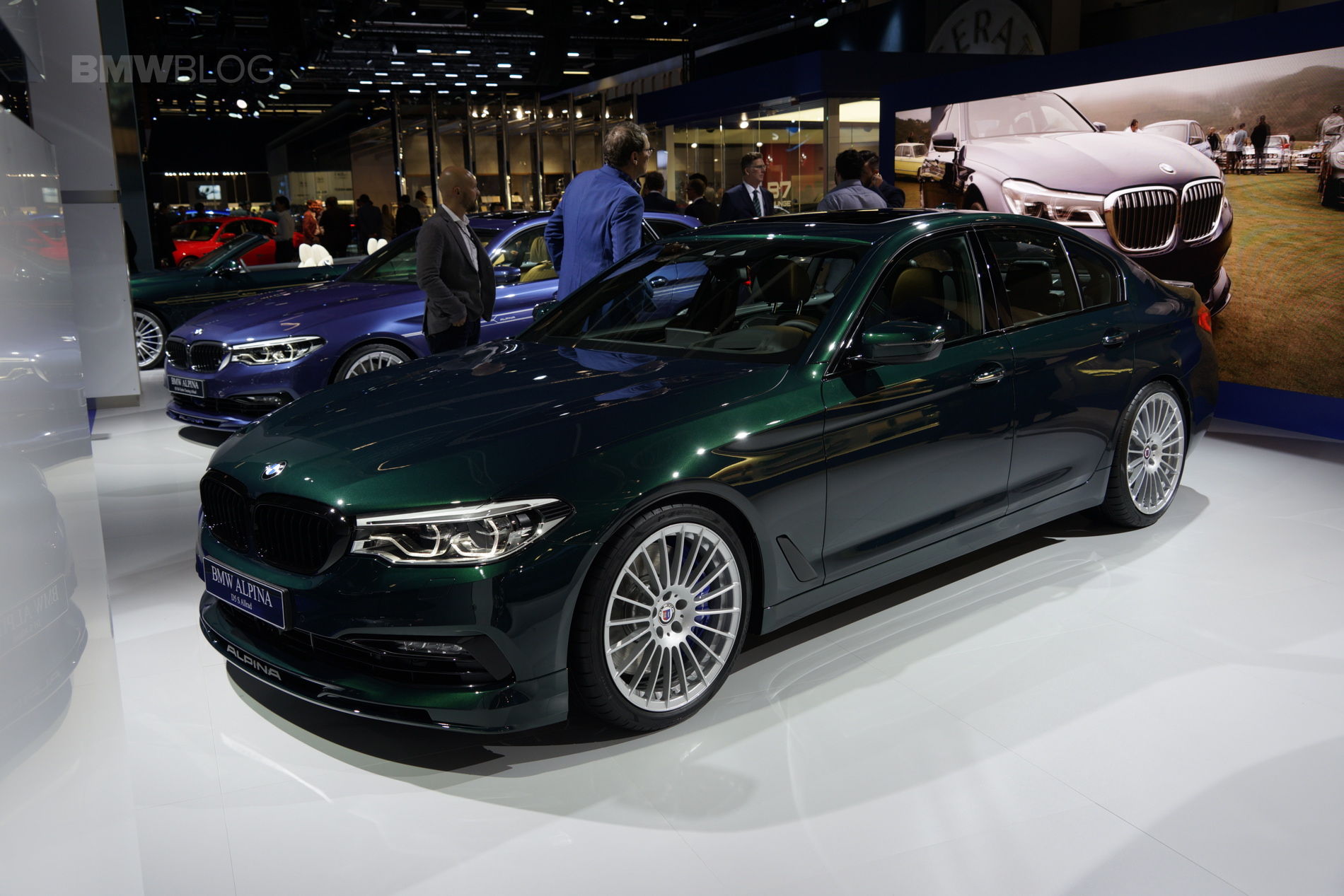 2017 Frankfurt Auto Show Bmw Alpina D5 S G30 With 388 Horsepower Triturbo