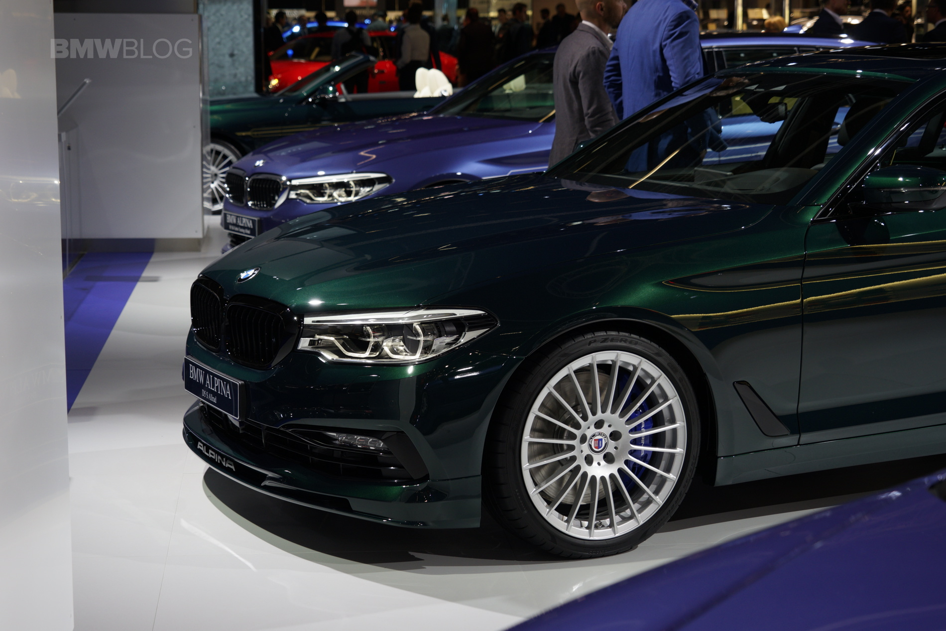 2017 Frankfurt Auto Show Bmw Alpina D5 S G30 With 388