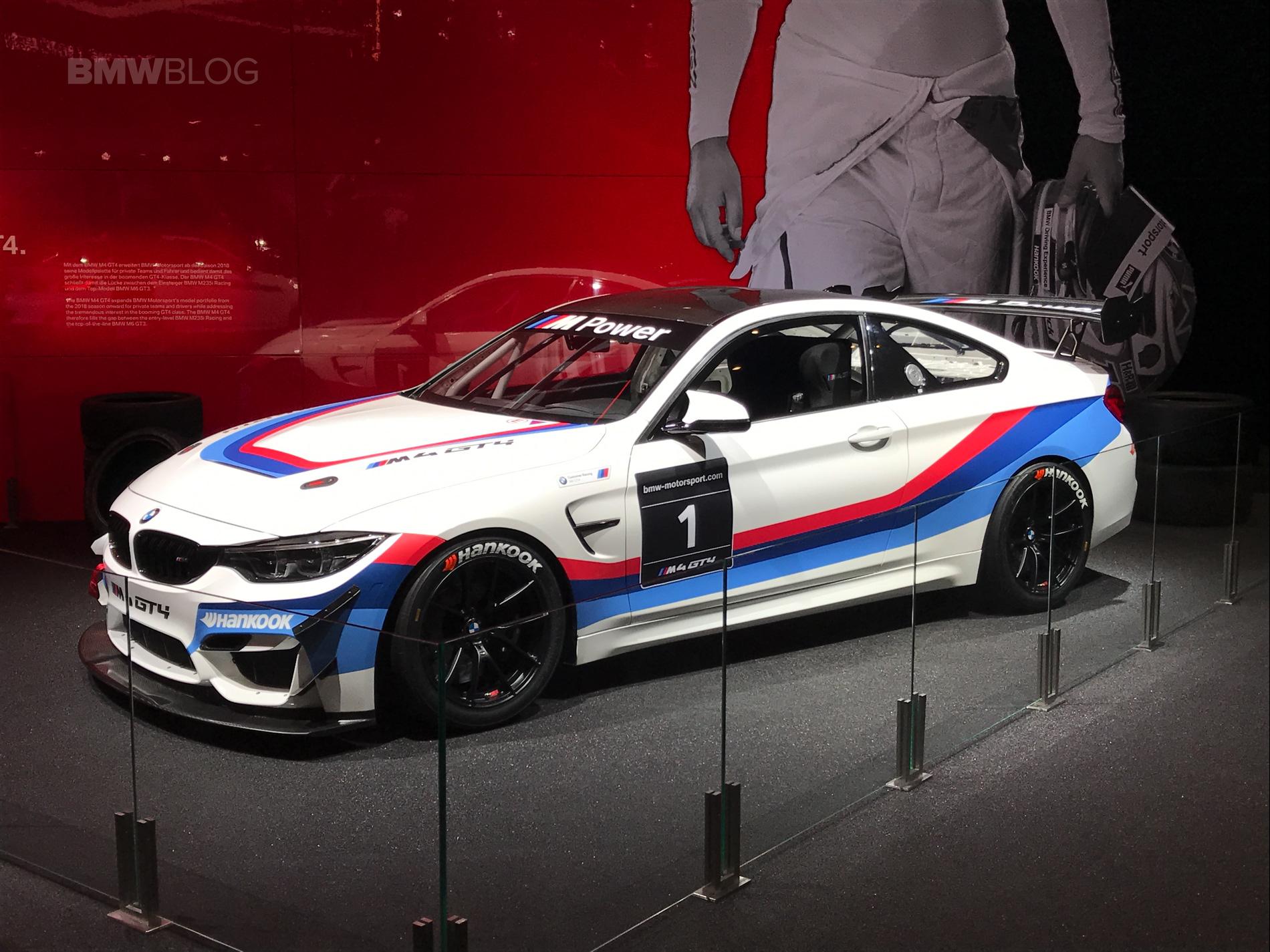 2017 Frankfurt Auto Show Bmw M4 Gt4