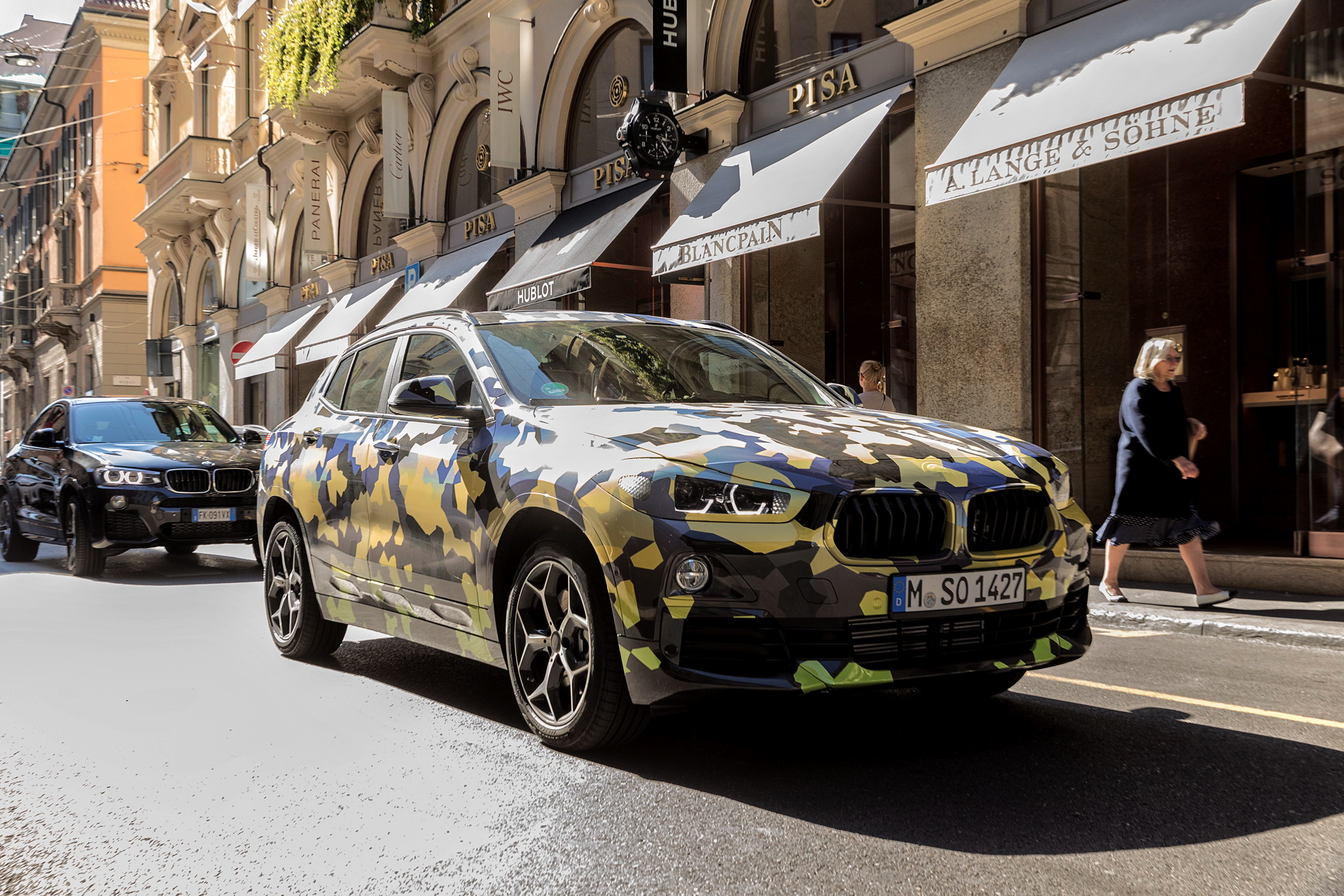 BMW X2 Milan Fashion Week 01