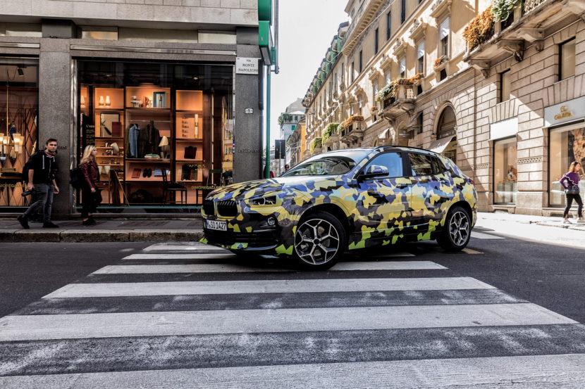 BMW X2 Milan Fashion Week 02 830x553