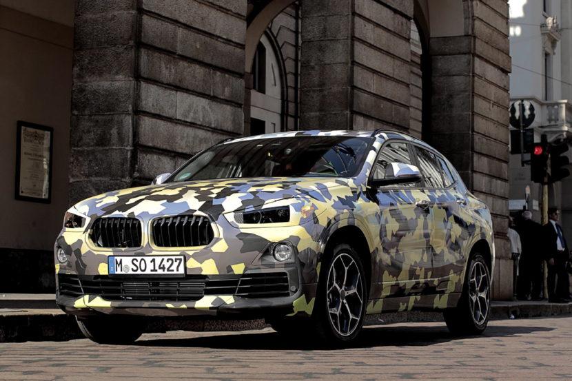 BMW X2 Milan Fashion Week 03 830x553