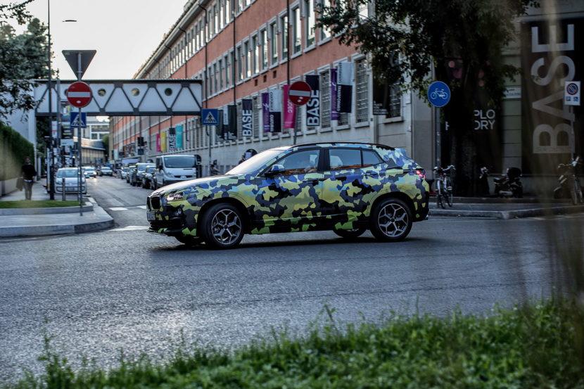 BMW X2 Milan Fashion Week 06 830x553