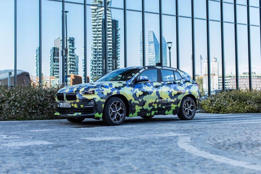 BMW X2 Milan Fashion Week 10 830x553