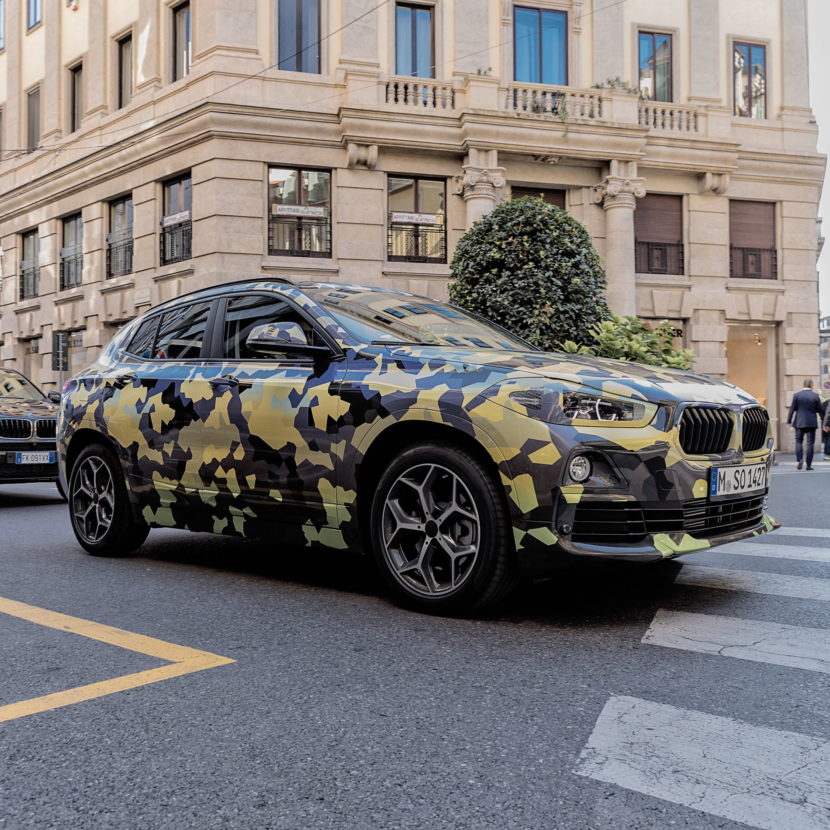 BMW X2 Milan Fashion Week 13 830x830