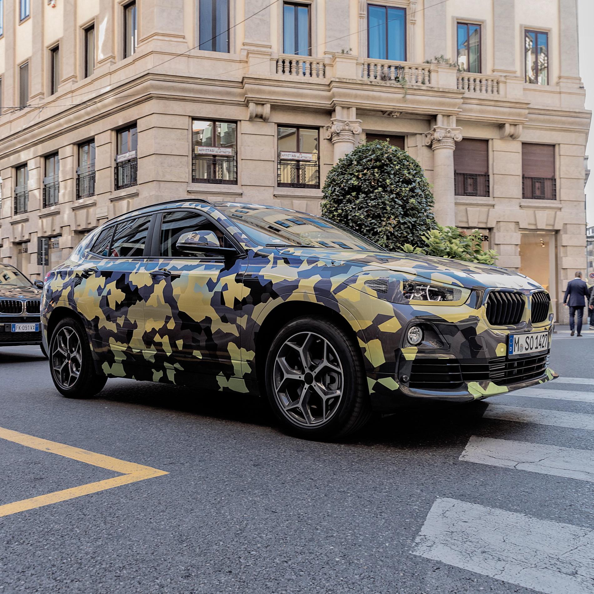 BMW X2 Milan Fashion Week 13