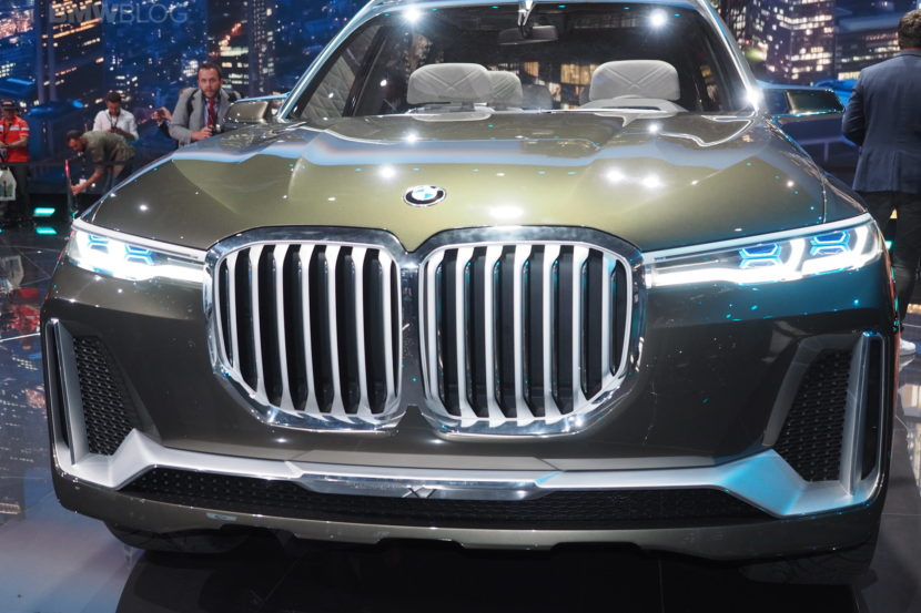 BMW X7 Concept Damaged On Its Way To The Detroit Auto Show