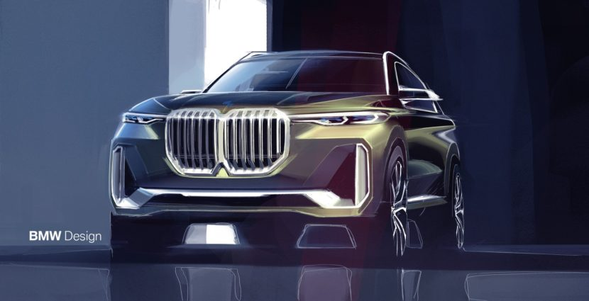 BMW X7 Concept iPerformance12 830x425